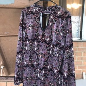 Tops - Paisley printed mini dress or top